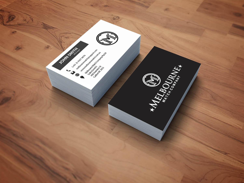 Business business card design for melbourne watch company pty ltd by business business card design for melbourne watch company pty ltd in australia design 13102841 stopboris Choice Image