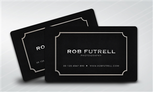 24 serious business card designs business business card design business card design by disign for photos by futrell design 526235 colourmoves Image collections