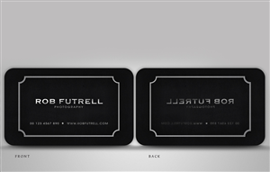 24 serious business card designs business business card design business card design by disign for photos by futrell design 526702 colourmoves Image collections
