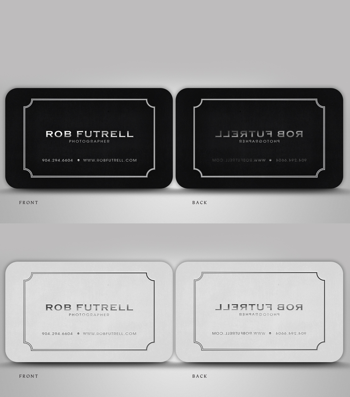 24 serious business card designs business business card design business card design by disign for photos by futrell design 528225 colourmoves Image collections