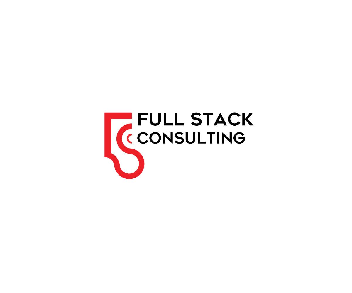 Playful, Modern Logo Design for Full Stack Consulting by gates_m ... for Full Stack Logo  288gtk