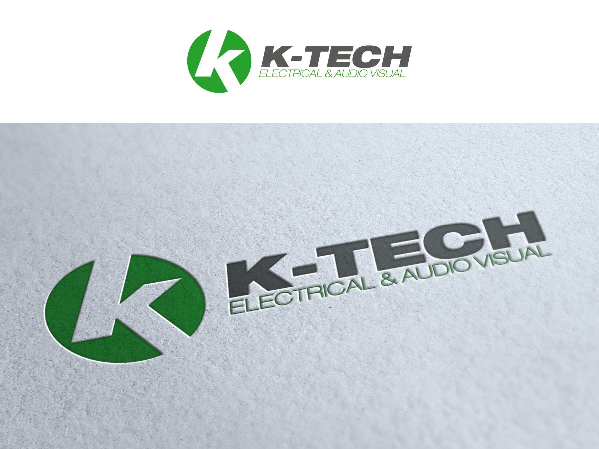 Elegant playful logo design for spyro kotsos by mim design logo design by mim design for k tech electrical audio visual logo magicingreecefo Images