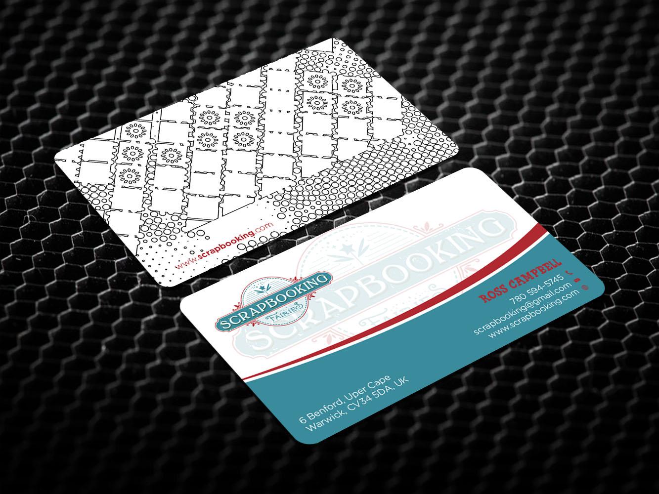Bold serious retail business card design for scrapbooking fairies bold serious retail business card design for scrapbooking fairies in canada design 13278168 colourmoves