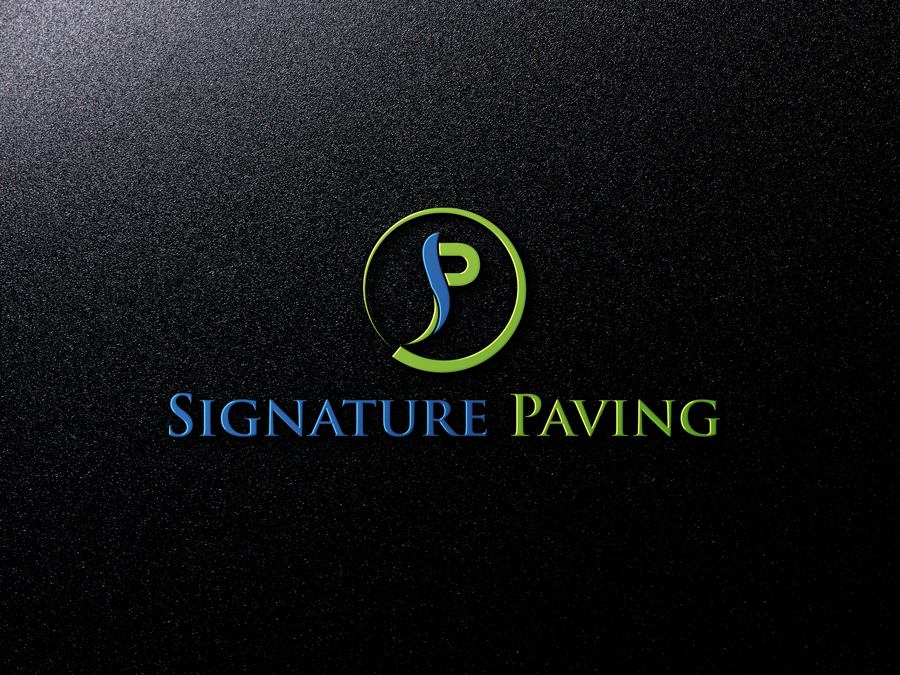 Masculine Conservative Contractor Logo Design For Signature