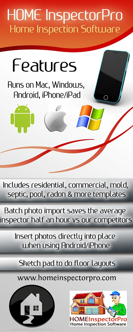 Colorful, Masculine Poster Design for Home Inspector Pro by ...