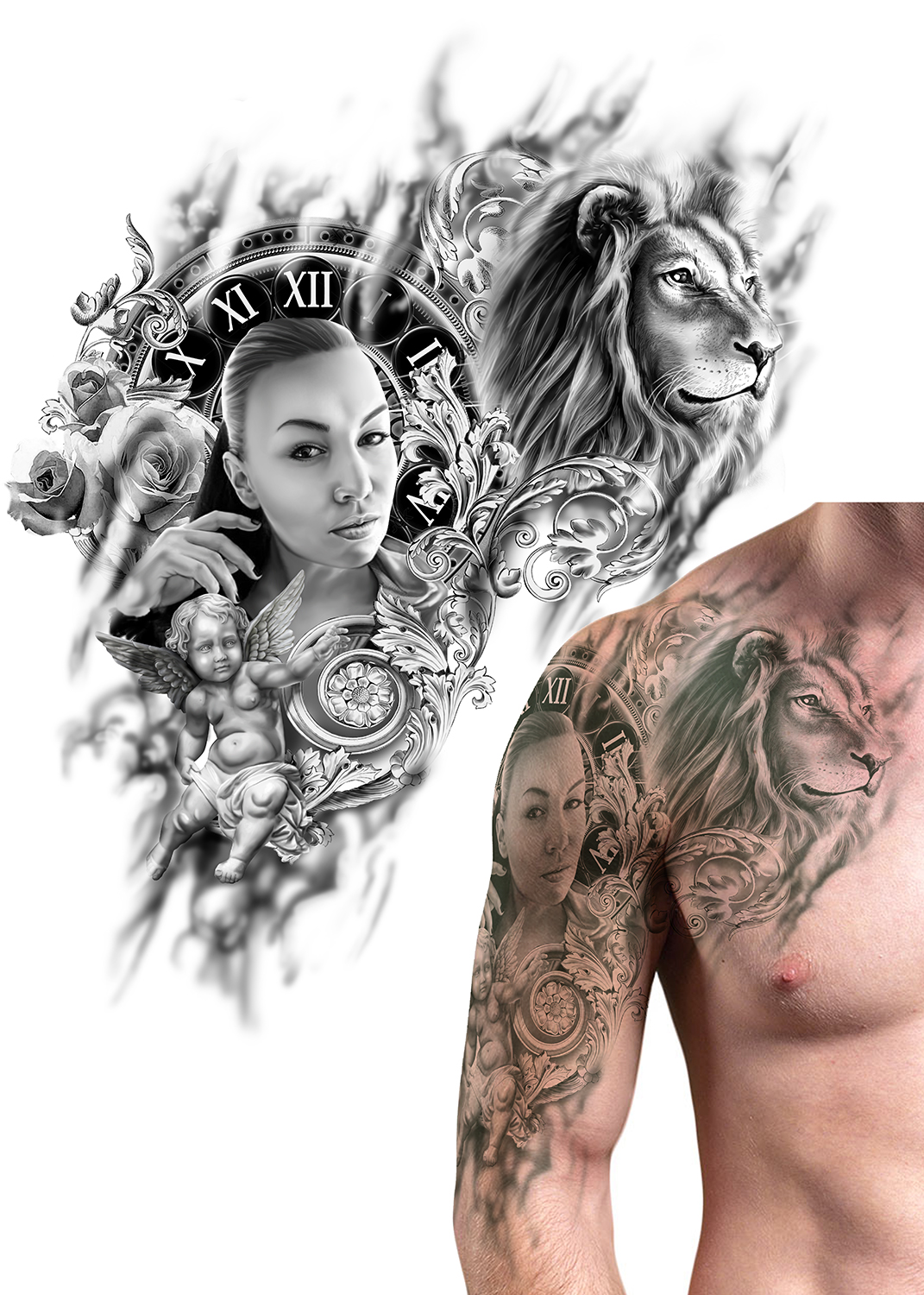Modern, Elegant, Tattoo Tattoo Design for a Company by icirotrisna ...