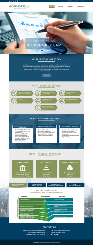 Workhorse Enterprise Asset Management | 94 Web Designs for a