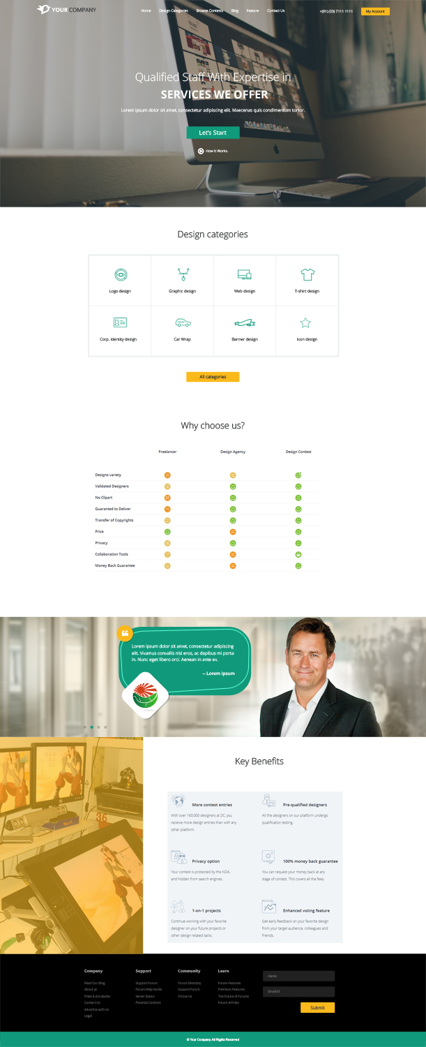 Ts Design serious modern web design for lean frog by ts design design 13271625