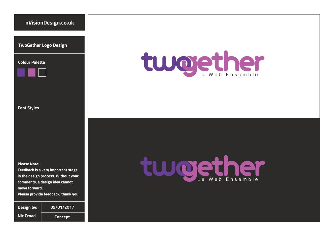 Modern, Elegant Logo Design for Twogether by [n]visionDesign ...