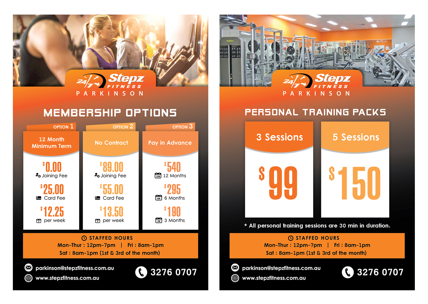 50 elegant flyer designs fitness flyer design project for stepz
