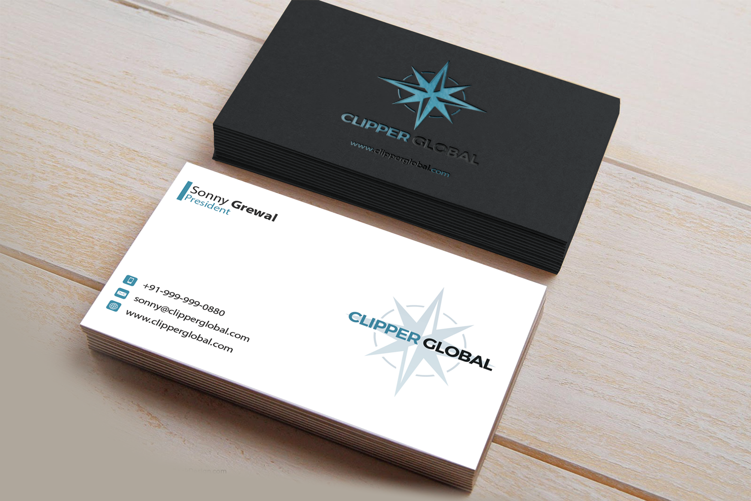 Masculine elegant importer business card design for clipper global business card design by riz for clipper global design 13242583 colourmoves
