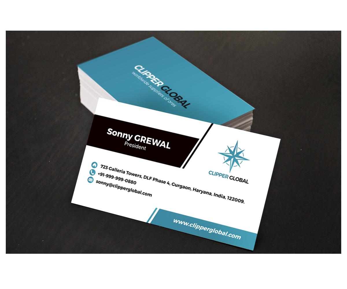 Design De Carte Visite Par CervusTM Pour Clipper Global
