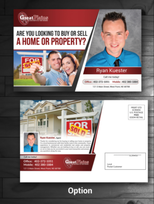 41 Professional Conservative Real Estate Agent Postcard Designs ...