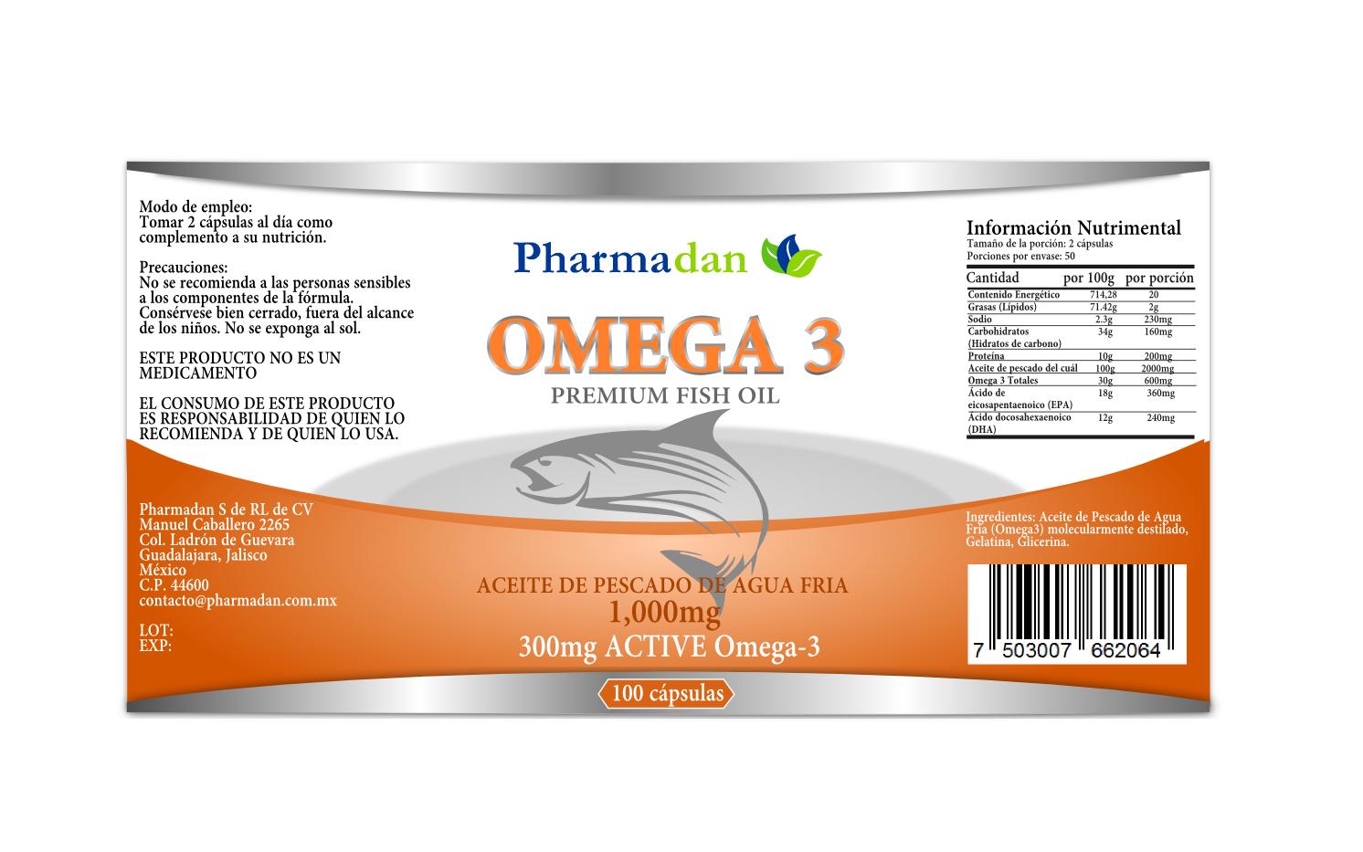 bold  playful  health and wellness label design for pharmadan s de rl de cv by giovanni