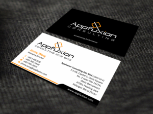 20 business card designs business business card design project for business card design by skydesign for appfuxion consulting sdn bhd design 13356748 reheart Images