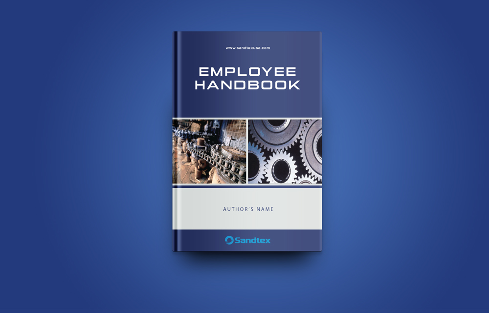 Employee book cover design for a company by potua bd for Employee handbook cover design template