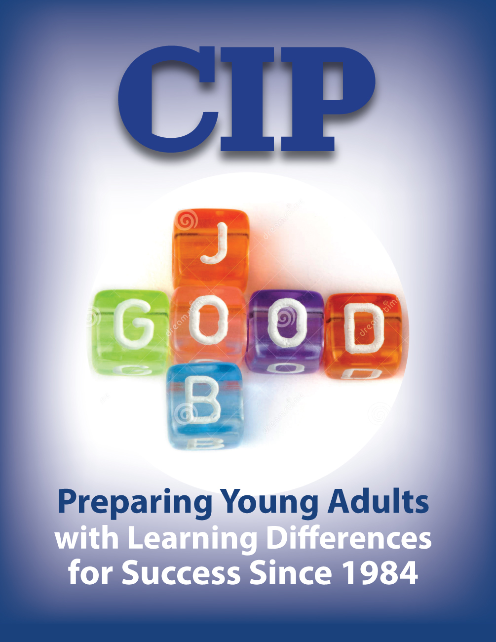 Modern, Bold, Education Book Cover Design for College Internship