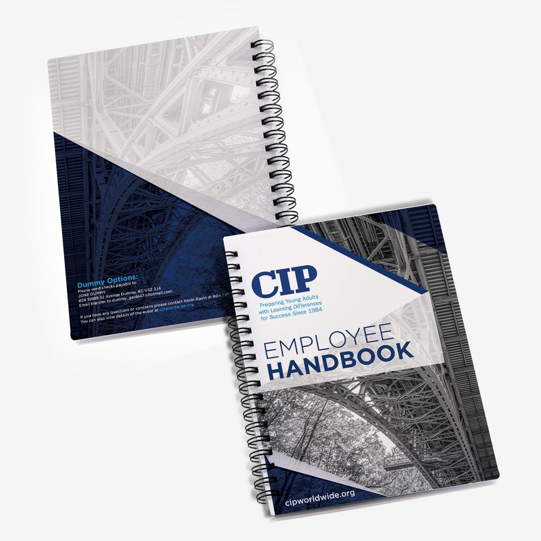 Book Cover Design Internship ~ Modern bold education book cover design for college