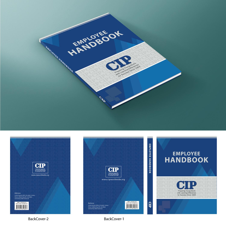 Employee handbook cover design