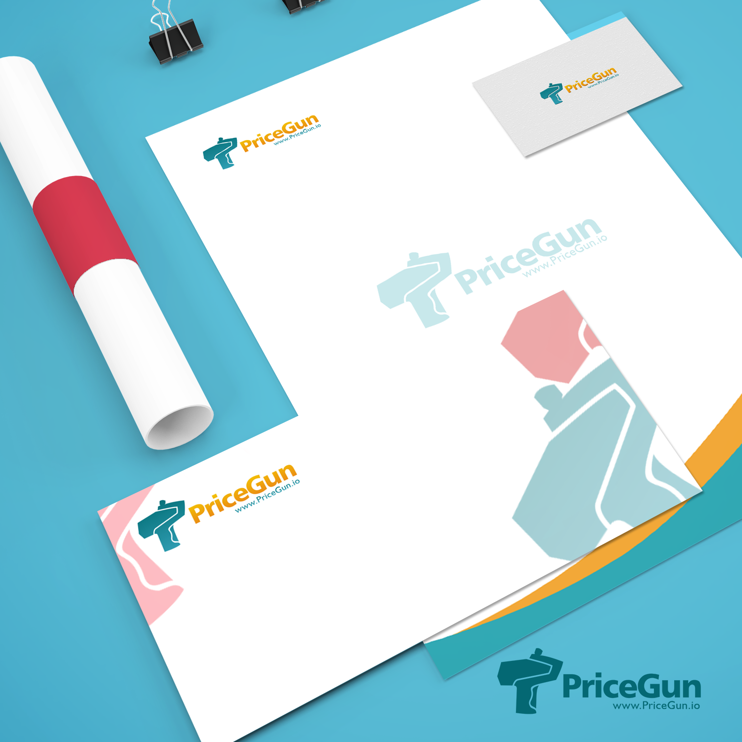 Bold, Playful, Online Shopping Logo Design for PriceGun or PRICEGUN ...