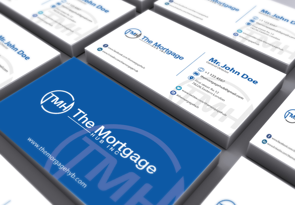 Elegant, Playful, Business Graphic Design for The Mortgage Hub by ...