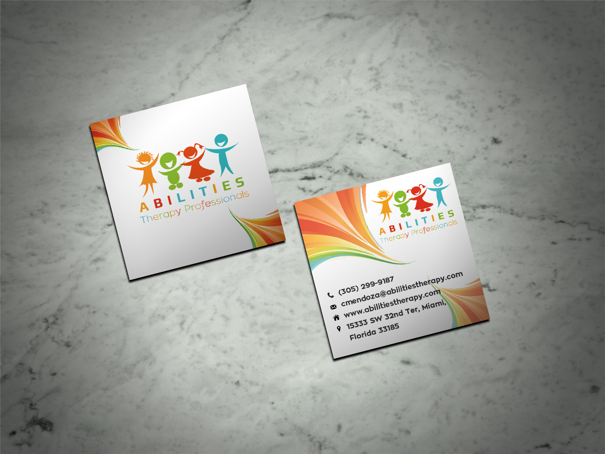 Modern Professional Business Card Design For Abilities