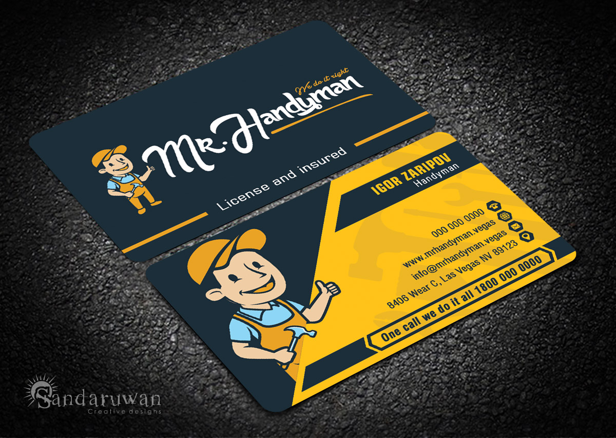 handyman business cards - Boat.jeremyeaton.co