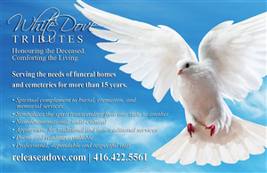 Print Design by ZinTech - Postcard for Funeral Homes