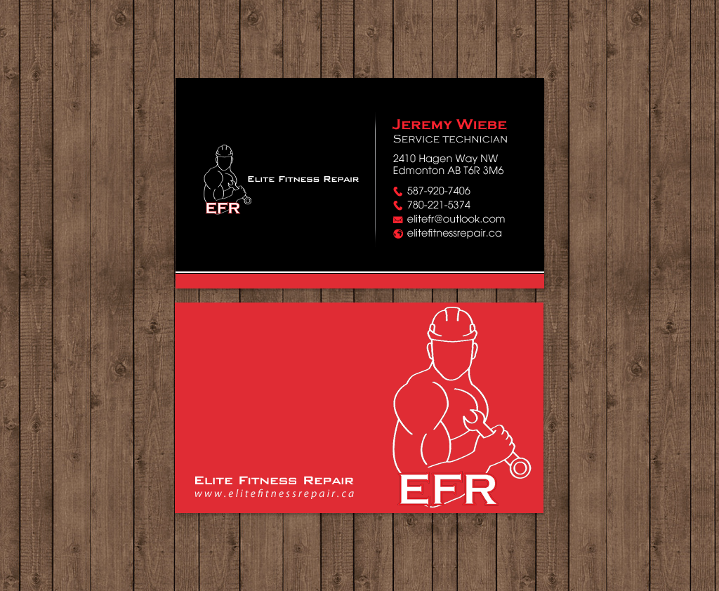 Business Cards Fitness Professional Image collections - Card Design ...