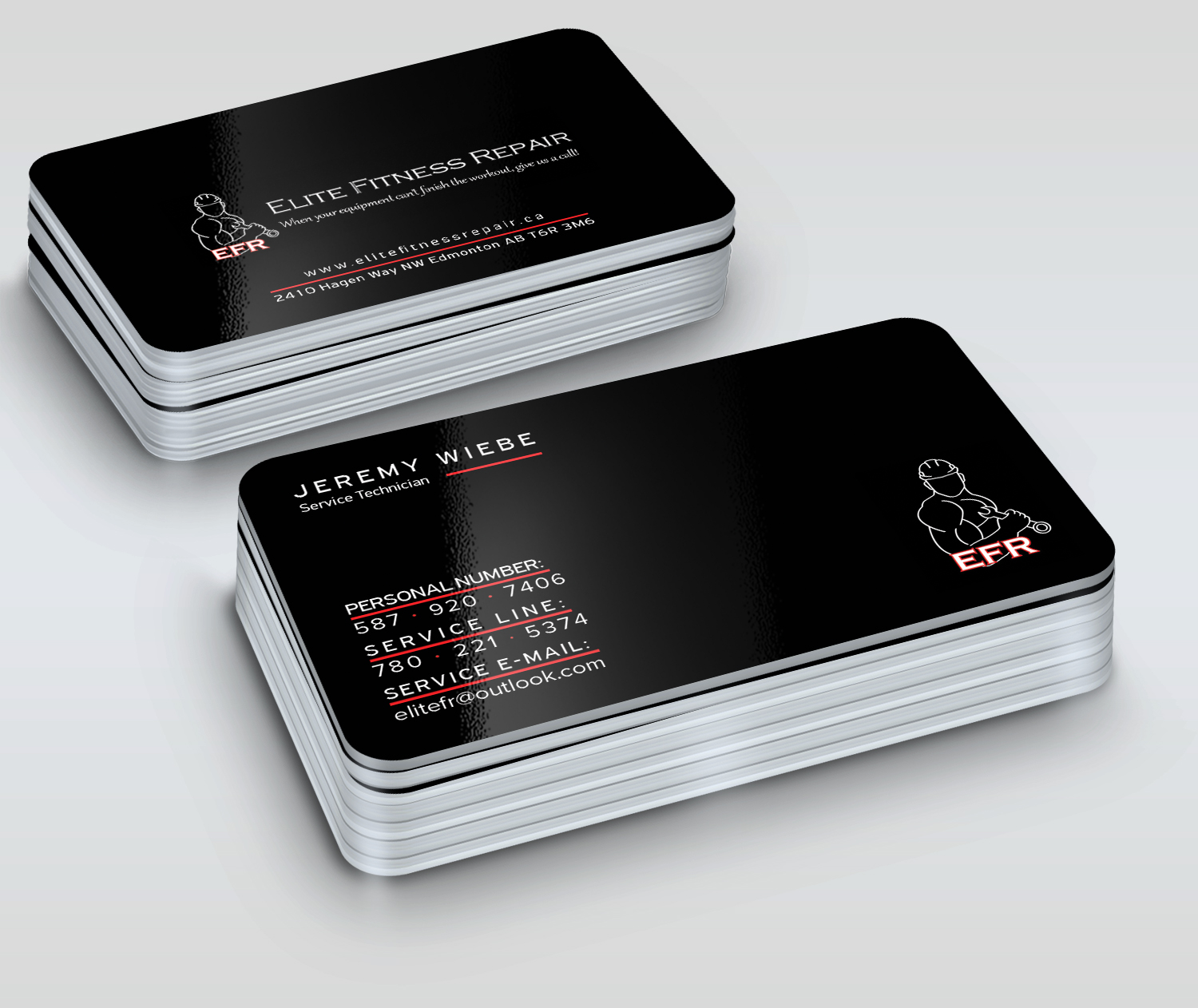 Bold professional appliance repair business card design for elite bold professional appliance repair business card design for elite fitness repair in canada design 13386335 colourmoves