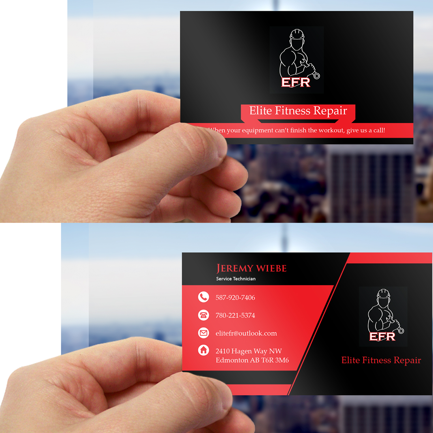 95 Bold Professional Appliance Repair Business Card Designs for a