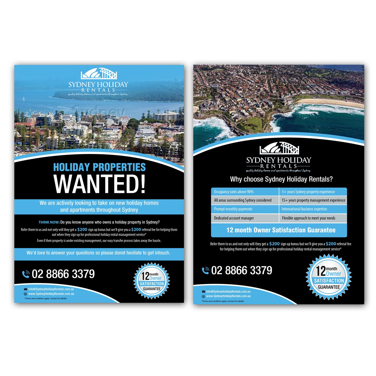 Rental Home Locator: Holiday Rental Property Search Promo Flyer