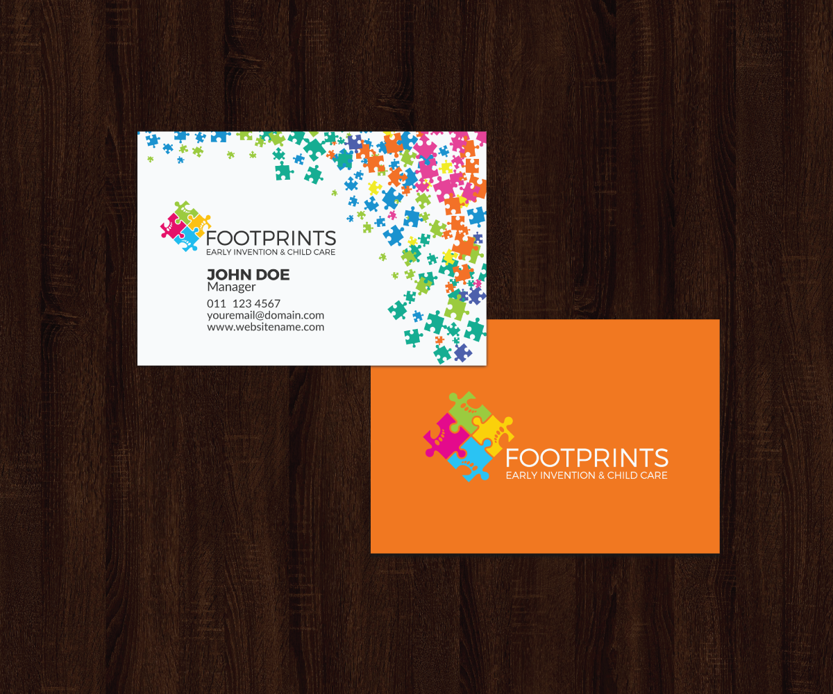 colorful upmarket business card design job business card brief