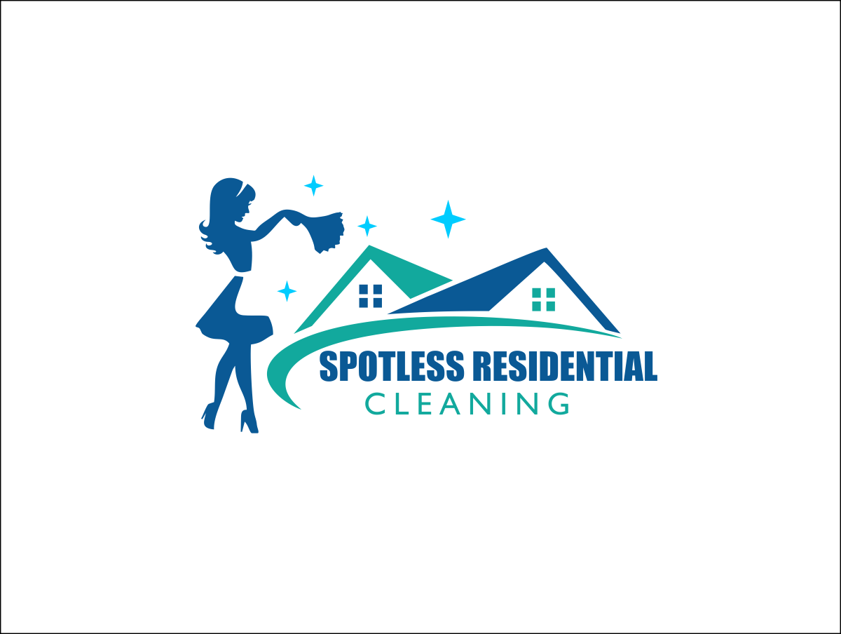134 Elegant Professional House Cleaning Logo Designs For