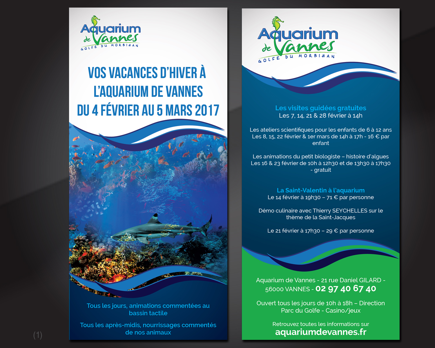 Assez Bold, Colorful Flyer Design for SAS AQUAGESTION PAUL by  FJ93