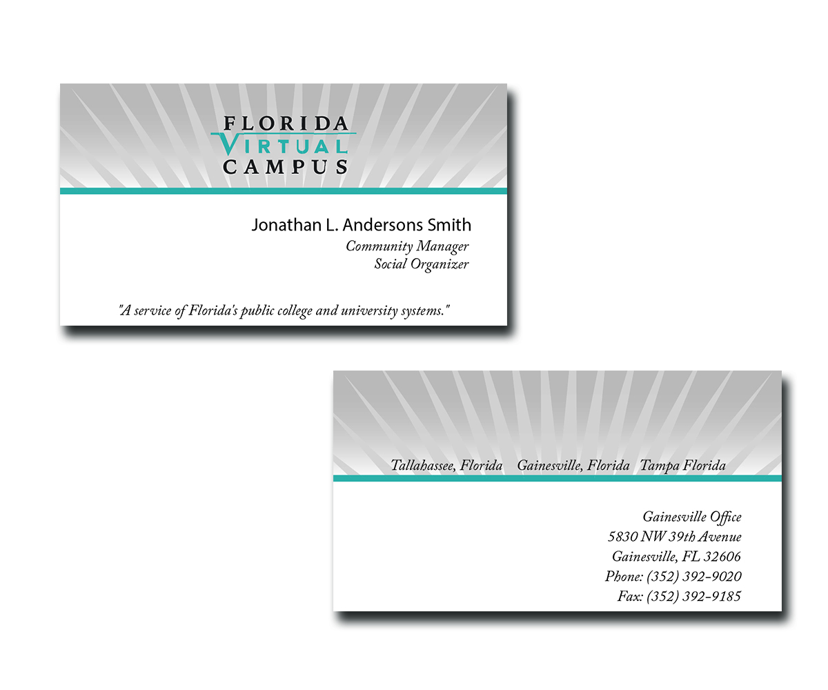 Serious professional university business card design for a company business card design by raymond archer graphic artist for this project design 2557022 colourmoves