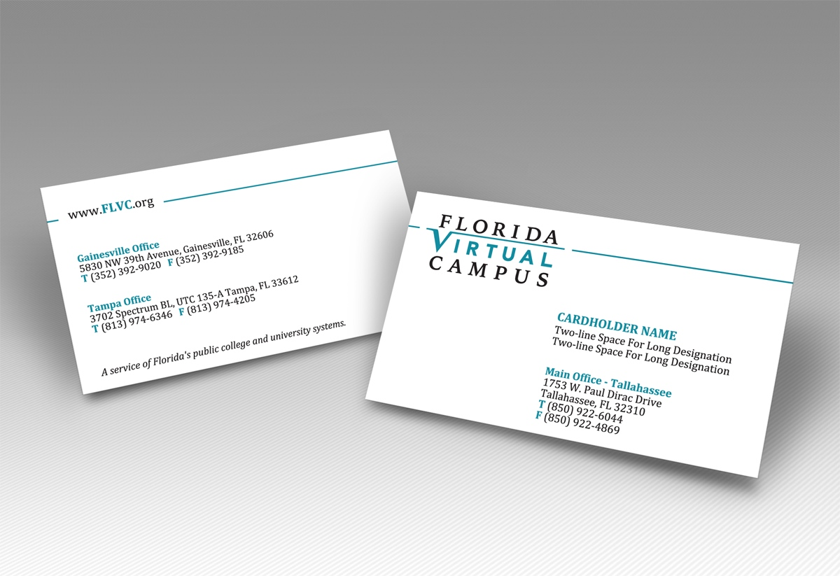 Serious, Professional, University Business Card Design for a Company ...