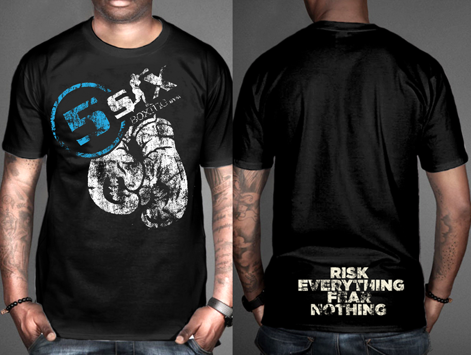 Serious Modern T Shirt Design For 5six By Vintagedesigner