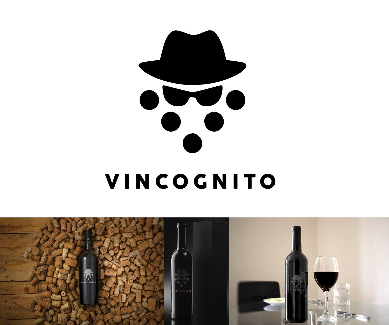Masculine Upmarket Logo Design For Vincognito By The Design Shark