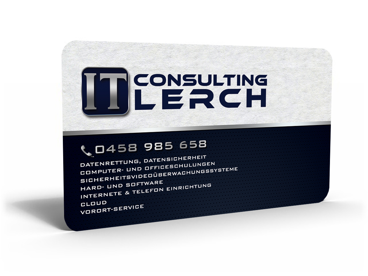 Professional, Modern, Computer Business Card Design for a Company by ...