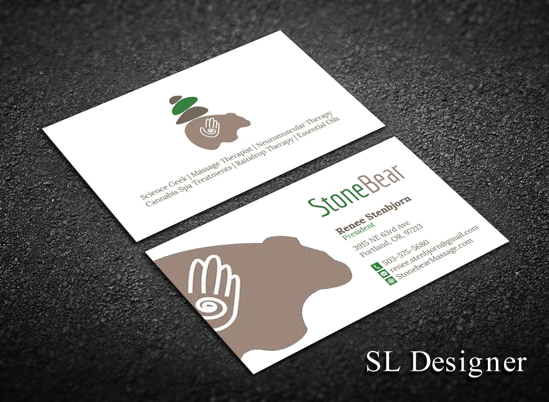 Playful, Modern Business Card Design for Renee Stenbjorn by SL ...