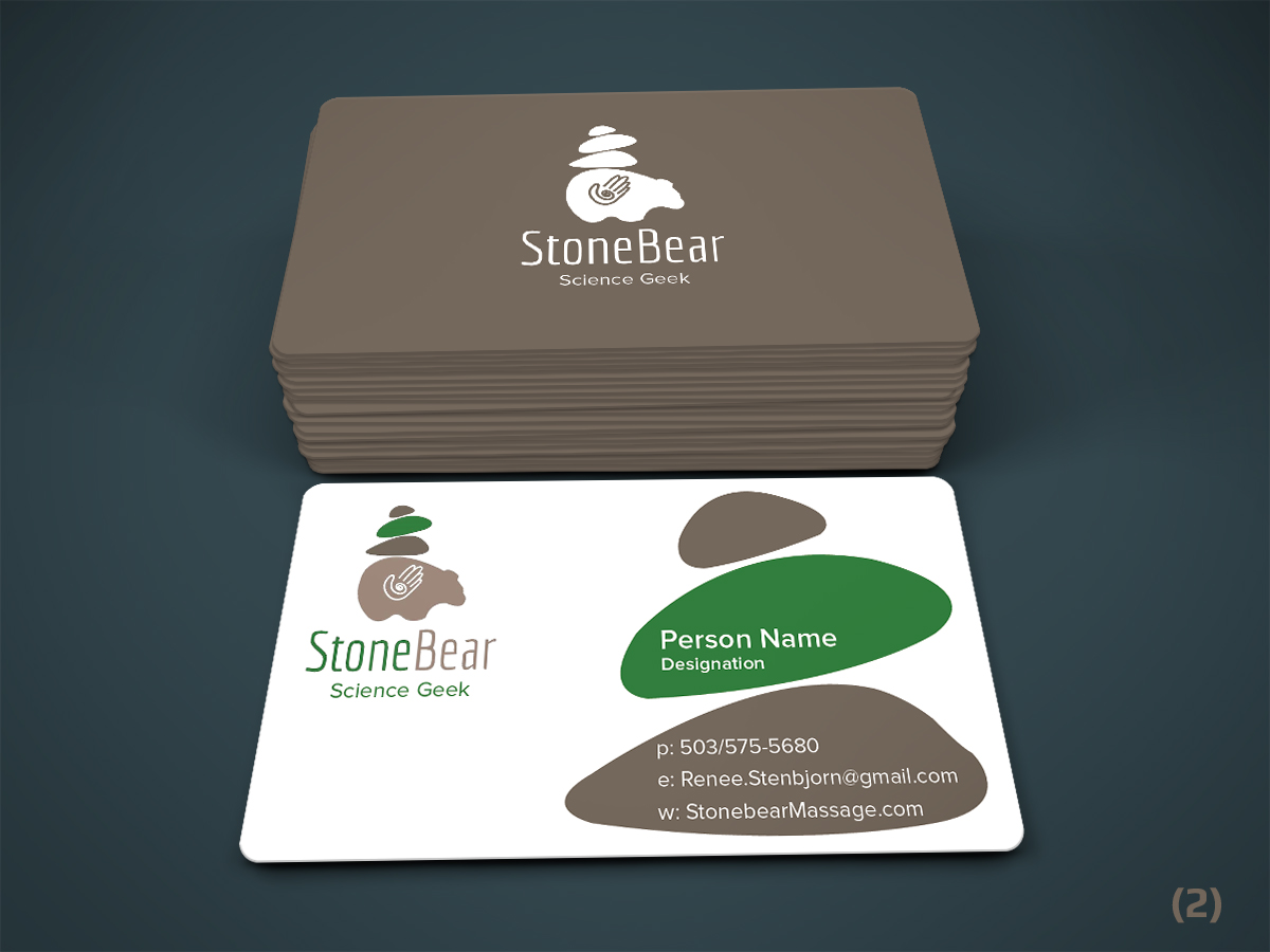 business card design by designanddevelopment for this project design 13422461 - Massage Therapy Business Cards