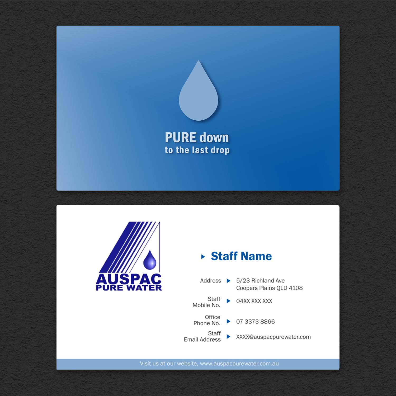 Modern Gehobenes Business Visitenkarten Design Für Auspac