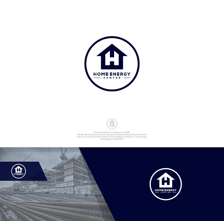 Home Energy Center Logo Refresh 101 Logo Designs For Home