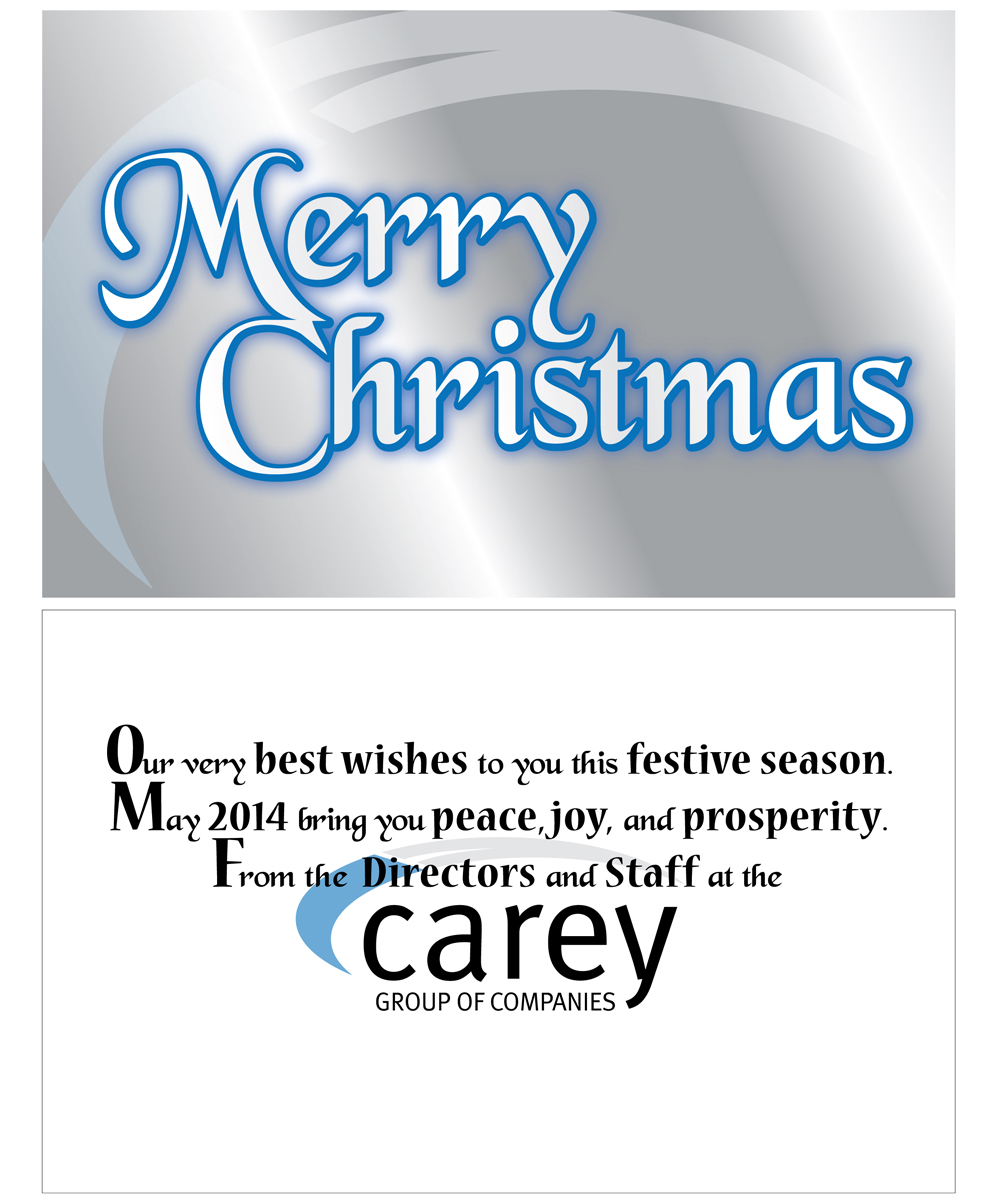 Professional Upmarket Printing Greeting Card Design For Peak