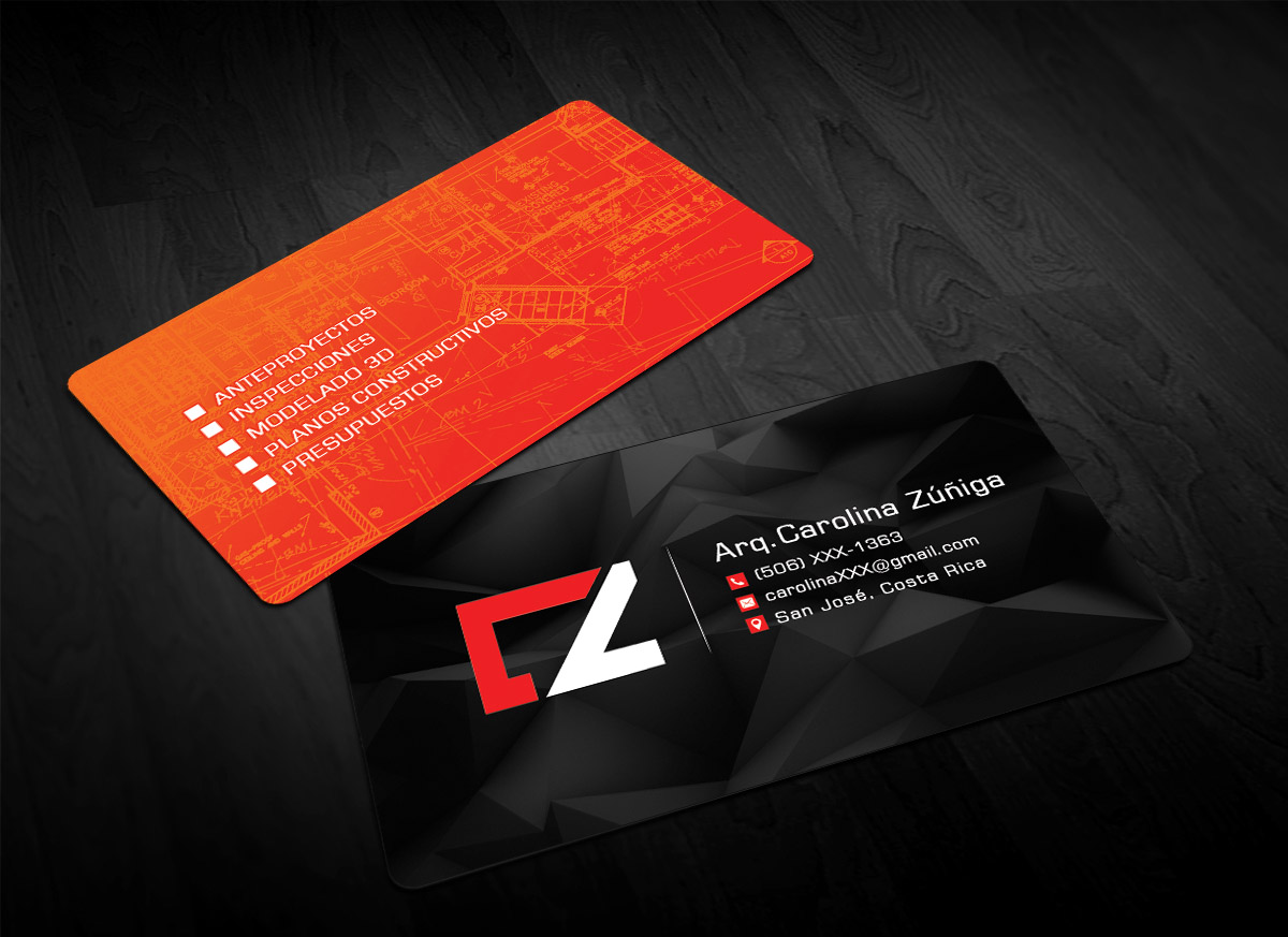 business card design by sandaruwan for this project design 13701137 - Architect Business Card