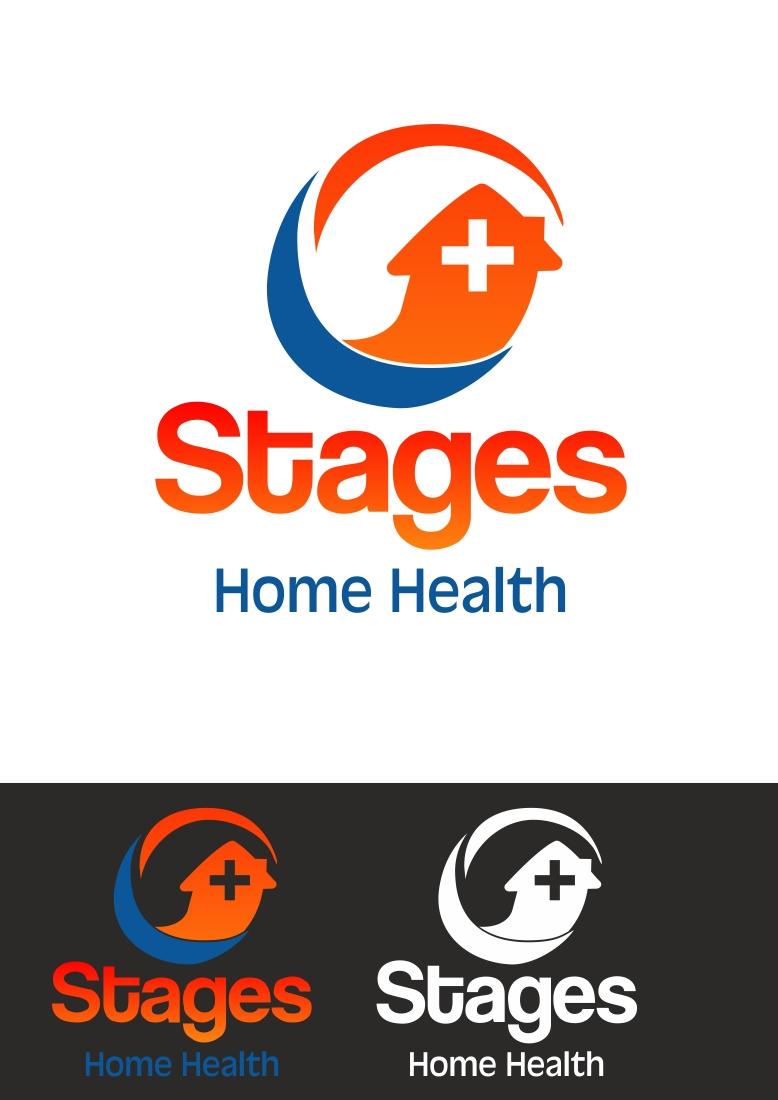 Elegant Serious Home Health Care Logo Design For Stages Home Health By Alkesh Thakkar Design