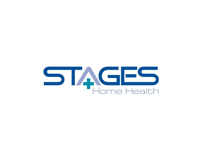 elegant serious home health care logo design for stages home health by gito kahana design. Black Bedroom Furniture Sets. Home Design Ideas