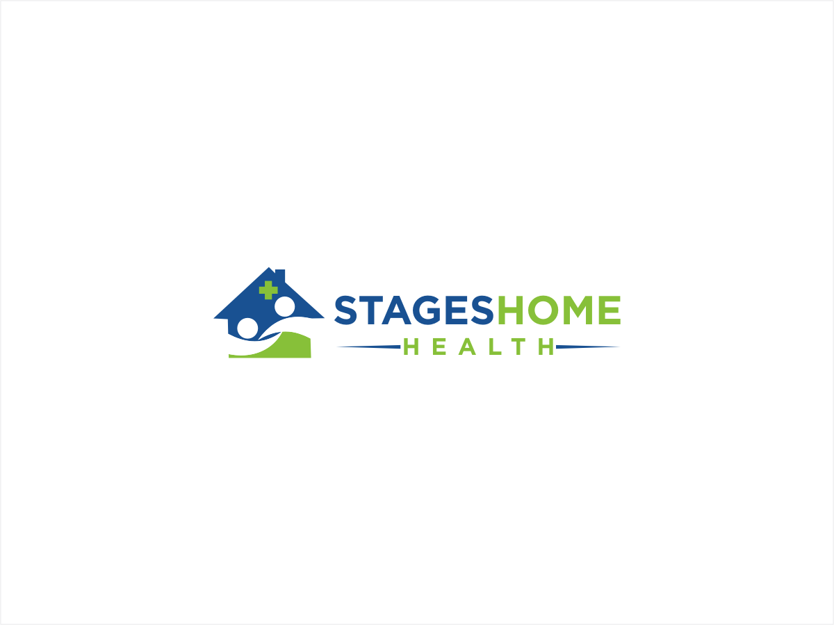 Elegant serious logo design for stages home health by sushma design 2464653 - Home health care logo design ...