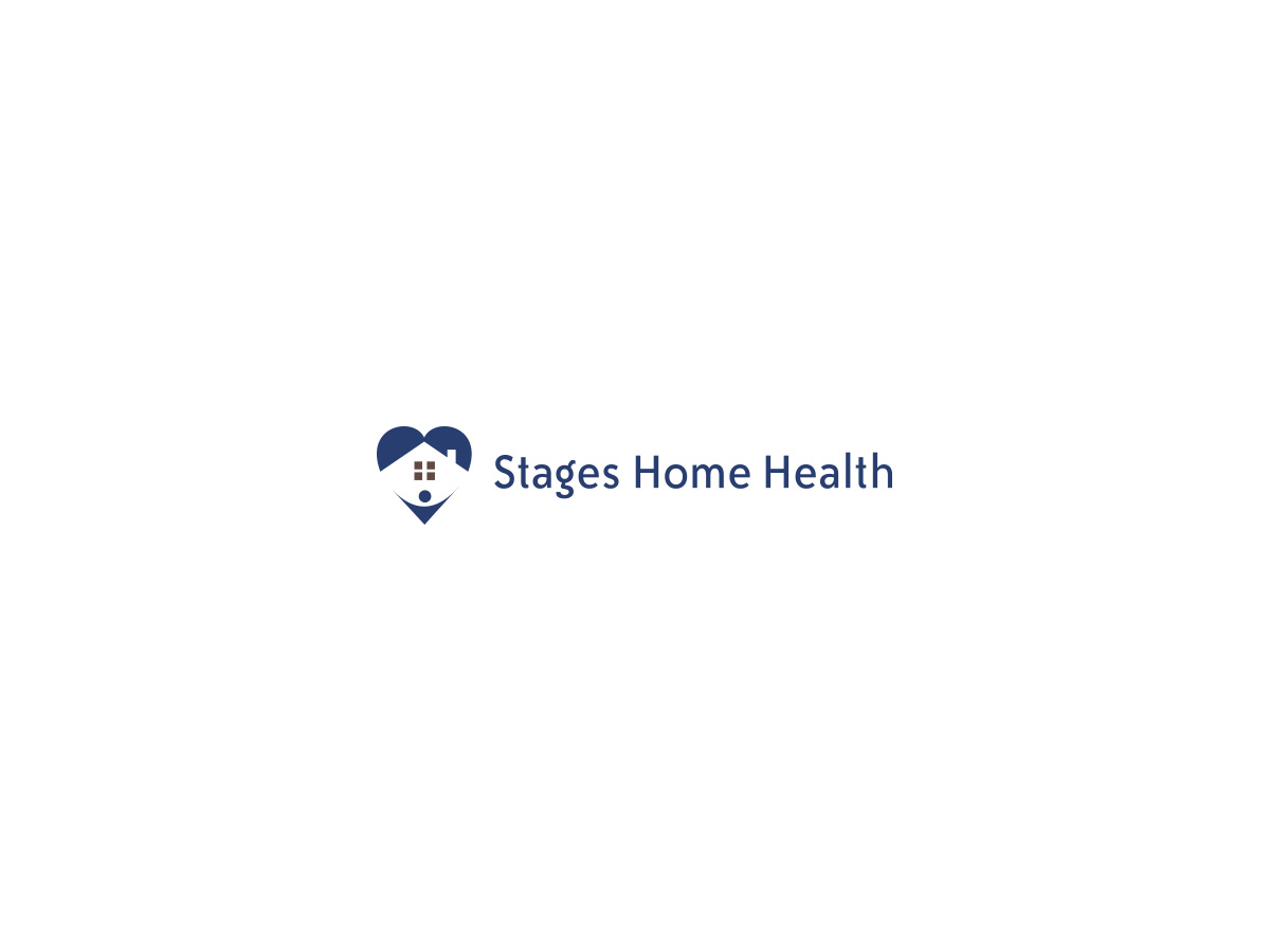 Elegant serious logo design for stages home health by tahib design 2475999 - Home health care logo design ...